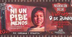 #NiUnPibeMenos #Salta  Viernes 9/Jun - 20 hs.  Espacio INCAA - Hogar Escuela #QueHacemosSalta #Noticia #Prensa Toda la info que necesitas la podes encontrar aquí  http://quehacemossalta.com/