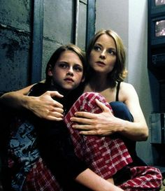 Kristen Stewart and Jodie Foster   in Panic Room 2002