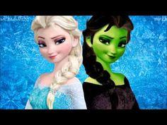 Elsa as Elphaba. I want Disney to do a cartoon version of Wicked with Idina Menzel!