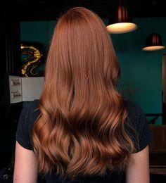 Love this copper/auburn hair color. Hair Color Auburn, Hair Color Dark, Brown Auburn Hair, Ginger Hair, Hair Day, Ombre Hair, Gorgeous Hair, Hair Looks, Dyed Hair