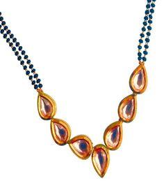 Kundan Sparkle Mangalsutra Mangalsutra [product_color]- Deara Fashion…