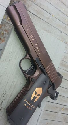 SIG SAUER GUN - 1911 SPARTAN MOLON LABE HANDGUN PISTOL 4.2 IN 45 ACP OIL RUBBED BRONZE 8+1RD