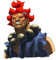 View an image titled 'Akuma Portrait Art' in our Street Fighter III: Strike art gallery featuring official character designs, concept art, and promo pictures. Street Fighter 3rd Strike, Akuma Street Fighter, Street Fighter Game, Street Fighter Characters, Sharpie Drawings, Cool Drawings, Game Character Design, Character Art, 3 Strikes