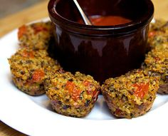If you're craving pizza, opt for these quinoa pizza bites instead. This nutritious treat features the goodness of the whole grain packed with fiber and protein with the flavors of your favorite Italian dish. They're a great snack or special party appetizer, but a plate of these can make great dinner instead of dialing in takeout. Total Calories (for one bite): 48 Photo: Jenny Sugar