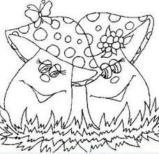 images of mushrooms coloring pages Colouring Pages, Adult Coloring Pages, Coloring Sheets, Baby Embroidery, Embroidery Patterns Free, Mushroom Images, Paper Quilling Designs, Mittens, Stuffed Mushrooms