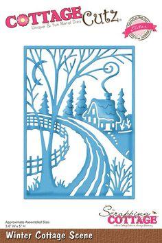 Cottage Cutz - Elites die - Winter Cottage Scene