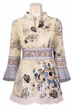 30131-TN Savage Culture Tunic Lola, caftan style