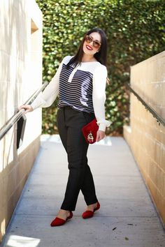 black and red - cute!