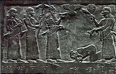 The Black Obelisk of Shalmaneser III (825 B.C.) is from Nimrud and was discovered in 1846. It stands 2 meters tall (6.5 feet) and commemorates Shalmanesar III's conquests and depicts vassal kings paying tribute. King Jehu of Israel is shown in Semitic dress bowing to the ground before the Assyrian ruler.  Isaiah says, the tables will be turned, and all the world will know how much the Lord loves you and how wonderfully God cares for you…