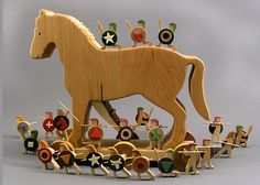 Produkty podobne do Trojan Horse Wooden Artistic Rendering of the Trojan War, Home Decor Gift for a Historian w Etsy Trojan Horse, Trojan War, Wooden Playset, Greek Warrior, Gingerbread Decorations, Hobby Horse, Wood Toys, Historian, Pet Toys