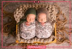 Twins bed pose newborn photography Newborn Baby Photography, Photo Art, Twins, Halloween Costumes, Photos, Crochet Hats, Bed, Pictures Of Babies, Baby Art