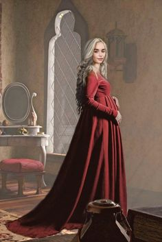 Game Of Thrones Queen, Game Of Thones, Game Of Throne Daenerys, Daenerys Targaryen, Khaleesi, Princess Art, Mother Of Dragons, House Dress, Badass Women
