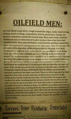 Oilfield men