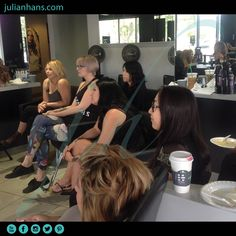 The Team caught in action! Paying attention to Spencer in our Updo and Braid Class! #updo #braid #class #practice #technique #redken #redkenelite #redkensalon #advancetraining #redkentaining #healthyhair #lagunawoods #lagunahills #orangecounty #oc #hairsalon