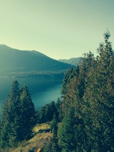 Looking out from Lighthouse in Nelson, British Columbia