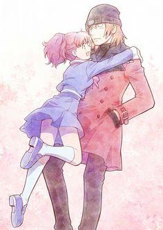 Tags: Shin Megami Tensei: PERSONA 3, Aragaki Shinjirou, Female Protagonist (Persona 3), Artist Request
