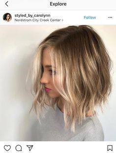 The long bob hairstyles are very common among women. Not too short, not too long, the long bob haircut is reasonable length. Browse the last long bob haircuts. Haircuts For Medium Length Hair, Bob Haircut For Fine Hair, Long Bob Haircuts, Medium Haircuts, Layered Hair Cuts Medium, Long Aline Haircut, Bob With Fringe Fine Hair, Long Bob Fine Hair, Medium Blonde Bob