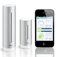Netatmo Weather Station for Smartphone Best Offer On sale. Best Netatmo Weather Station for Smartphone Price. Buy as gift Netatmo Weather Station for Smartphone on Sale, at Best Deal. Geek Gadgets, Cool New Gadgets, Latest Gadgets, Electronics Gadgets, Software, Ipad, Usb, Ipod Touch, Personal Weather Station