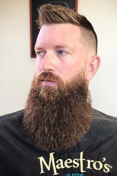 The best ideas for Viking hairstyles are gathered here. Find a short curly mens top knot, a medium undercut hairstyle, intricate Viking braids for long hair and many other stylish haircuts and beards for warriors in our gallery. Grey Beards, Long Beards, Stylish Haircuts, Haircuts For Men, Viking Haircut, Undercut Hairstyles, Viking Hairstyles, Comb Over Haircut, Pompadour Fade