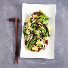 China-Gemüse süßsauer Celery, Food Inspiration, Asparagus, Low Carb, Healthy Recipes, Healthy Meals, Dinner, Vegetables, Cooking