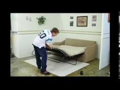 SOFA BED ASSEMBLY 9 15 2013 - YouTube