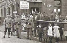 Grenspost Pannesheide rond 1915. Memories, Nostalgia, Memoirs, Remember This
