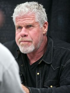 "Actor Ron Perlman, seen here in January, will star and co-executive produce a pilot for Amazon Studios called ""Hand of God."" Description from usatoday.com. I searched for this on bing.com/images"