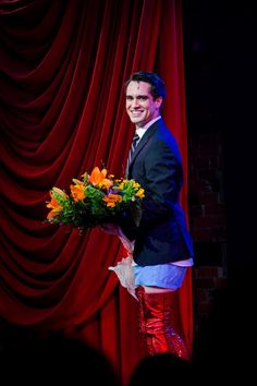 Brendon living out his dreams on Broadway