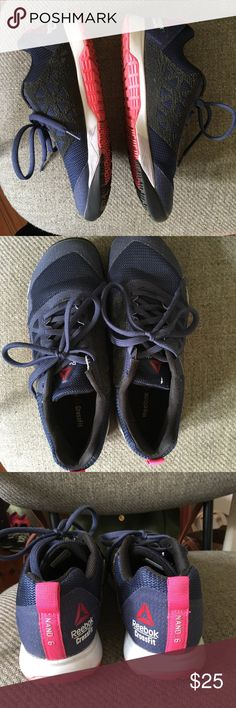 Reebock CrossFit lifting shoes These CrossFit by Reebock are 2016/2017 model Nano 6. They are primarily designed for lifting in mind but are also great everyday gym shoes  Gently used. I tended to use my other black pair Reebok Shoes Athletic Shoes