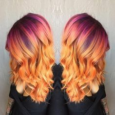 Hair Coloring Masterpieces! Lust colour limited only by your imagination.