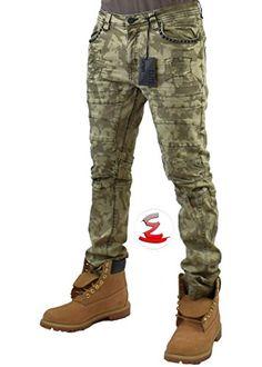 ec96c96f6d0990 Chic Elite Premium Denim Elite Premium Denim Warrior 4948 Men's Jeans Mens  Jeans. [$145