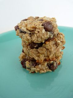 Sugar-Free Peanut Butter & Banana Oatmeal Cookies! Made these tonight, they were amazing! I even substituted the canola oil with applesauce and my hubby loved them!