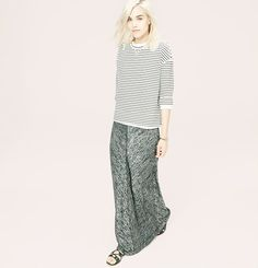 Lou & Grey Slinky Spacedye Maxi Skirt | Loft