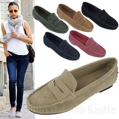 Cute Penny Loafer Shoes For Women - pictures, photos, images