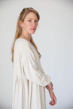 Sara Dress in ivory