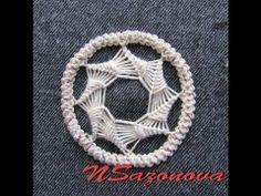 Румынское (шнурковое) кружево  Звездочка для заполнения круга. Мастер-класс