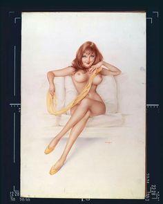 Alberto Vargas: Playboy~ September 1972.