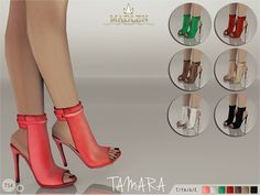 Madlen Tamara BootsNew ankle boots for your sim! If you want to look sexy these are the shoes for you! HQ leather texture comes in 7 colors! Mesh is completely new, made by myself and low poly. Joints are perfectly assigned. All LODs are replaced with new ones.You cannot change the mesh, but feel free to recolor it as long as you add original link in the description.If you can't see this creation in CAS, please update your game.Hope you'll like it!Enjoy!DOWNLOAD