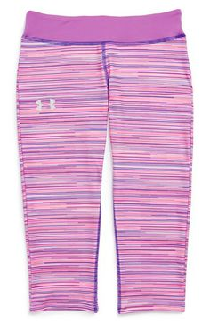 abe0f5b63969 Under Armour Sonic HeatGear® Capris (Big Girls) available at  Nordstrom  Nike Outfits