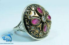 انگشتر طرح یاقوت سرخ گل سرخ خاتون Gemstone Rings, Gemstones, Jewelry, Fashion, Moda, Jewels, Fashion Styles, Schmuck, Jewerly