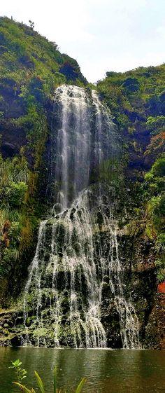 Karekare falls, New Zealand