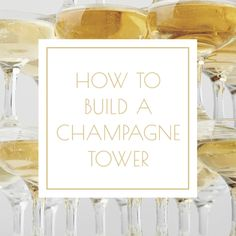 How to DIY a champagne tower for your New Years Eve party