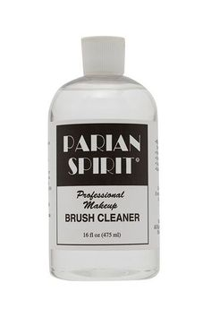 """Parian Spirit Brush Cleaner is a very fast and effective cleanser that removes every last bit of product from your brushes, dries instantly, and contains citrus extract, which makes your brushes smell divine,"" explains makeup artist Benjamin Puckey.Parian Spirit, £49, available at Amazon #refinery29 http://www.refinery29.uk/2015/12/100131/most-popular-fashion-catwalk-beauty-products#slide-23"