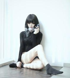 Rather Smokin hot goth girls