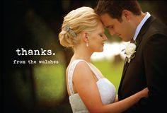 #wedding #thank you cards