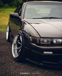 Tuner Cars, Jdm Cars, Silvia S13, Jdm Wheels, Datsun Car, Lowrider Trucks, Street Racing Cars, Japanese Sports Cars, Honda Civic Hatchback