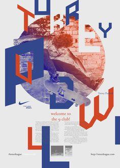Street League: Skate Poster by Christoph Ruprecht