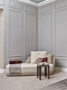Bentley Home - Richmond chaise longue and Saxon coffee table www.luxurylivinggroup.com #Bentley #LuxuryLivingGroup