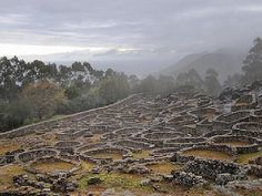 Celtic ruins St. Tecla. La Guardia-Pontevedra (Galicia,Spain).
