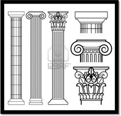 Everything You Want to know About Ancient Greek Architecture - skizzen - Architecture Antique, Ancient Greek Architecture, Renaissance Architecture, Cultural Architecture, Classical Architecture, Ancient Greek Art, Ancient Greece, Greek History, Art History